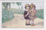 CARD BERTIGLIA  BIMBI  INNAMORATI ROMANTICISMO -FP-V-2- 0882-12557 - Bertiglia, A.