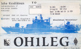 QSL-CARDS - AK 98579 Finland - Turku - Radio Amateur