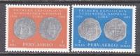 Peru C166-7  *  ANCIENT COINS - Peru
