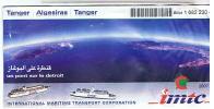 BILLET TANGER ALGESIRAS TANGER  A42 - Inschepingsbiljetten