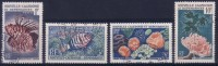 Nouvelle-Calédonie N° 291 à 294 Oblitérés - Faune - Nueva Caledonia