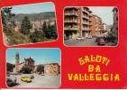 VALLEGGIA SAVONA LIGURIA SALUTI DA VALLEGGIA AUTENTIQUE ORIGINALI D´EPOCA 100% - Savona