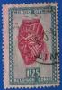 1948-51  Congo Belge - Art Indigène - Masque De La Tribu Ba- Kuba - 1f25 Vert Bleu Et Lilas Rose - - Congo Belge