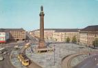 Darmstadt -Tor Zu Odenwald Und Bergstrasse Luisenplatz  - 1976  / Tram - Darmstadt
