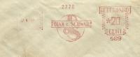 NL Firm Cover Polak & Schwaer's ESSENCE Mill With Nice Meter 27-4-1969 And Zagreb Backstamp - Scheikunde