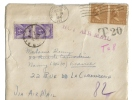 Enveloppe Taxe Air Mail T20 - Cachets Généralité