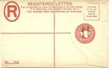 Gibraltar Reg Letter OVP Morocc Agencies Unused - Gibraltar