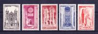 Série Complète Yvert N° 663 à 667 - Etat NEUF * - Année 1944 - France