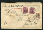 Germany 1907 10000 Marks Money-Cover Schraplau To Magdeburg - Germany