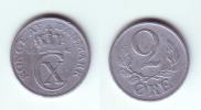 Denmark 2 Ore 1947 - Danimarca