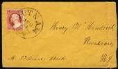 1860 USA Cover.  (H05c115) - 1847-99 General Issues