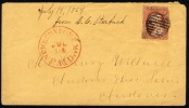 1851 USA Cover.  (H05c116) - Covers & Documents