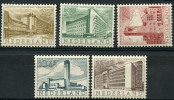 Pays-Bas (1955) N 634 à 638 * (charniere)