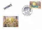 Cactusses,cactus Oblitération + COVERS Commemorative 2005,Special Cancel From Romania. - Sukkulenten