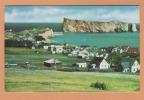 1959 Percé  ( Rocher Et Village )  Quebec Canada Postcard Carte Postale CPA Post Card - Quebec