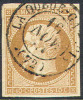 # France   14b, Used, VF, Soind, SCV$ 25.00   (fr014-2, Michel 12.II - 1853-1860 Napoleon III