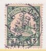 Germany East Africa 12  (o)  DAR-ES-SALAAM  Type III - Colony: German East Africa