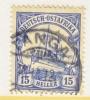 Germany East Africa 34   (o)   TANGA Type II Cd. Wmk. - Colony: German East Africa