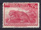 Belgian Congo 1942 Mi. 219     2.50 Fr Leopard - 1923-44: Gebraucht