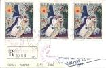 YT 1398 SUR LETTRE RECOMMANDEE FEGERSHEIM 15/2/86 - 1961-....