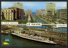 DF  / TRANSPORTS / BATEAUX / 76 SEINE MARITIME / LE HAVRE / PORTE OCEANE / PAQUEBOT FRANCE A QUAI - Passagiersschepen