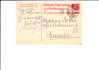 A0032    CP   POUR BRUXELLES 1916   CENSURE - Interi Postali