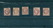 6 Timbres 2 Centimes ,dont 1  NEUF  Avec Charniere - 1871-1875 Cérès