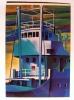 E. MAIOLI--PONTE NAVE 7 1987--OLIO SU TELA MM 500 X 700--EDIZIONI SEVERGNINISTAMPERIADARTE CERNUSCO S/N MI--FG--N - Pittura & Quadri