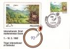 Birds Internationale Briefmarkenmesse Essen 1992    Special Cancell. - Columbiformes