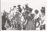 LES SAINTES MARIES DE LA MER CARTE PHOTO DE LA FETE AVEC LES GUARDIANS 1938 - Saintes Maries De La Mer