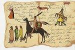 D7238 -  Dessin D' Indiens - Indiens De L'Amerique Du Nord