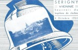 86 SERIGNY Souvenir Du Baptême De Cloches 4 Octobre 1931 - France