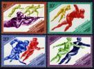USSR Russia 1984 Sarajevo Winter Olympic Games Figure Speed Skating Ice Hockey Sports MNH Michel 5352-5355 Su 5472-5 - Winter 1984: Sarajevo