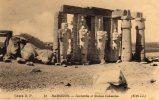 EGYPTE RAMSEION - Cariatides Et Statues Colossales - Zonder Classificatie