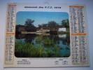 Almanach Des P.T.T. 1975 - Moselle N°57 - Moulin Roche L Abeille - Col Des Aravis   - Carte Géographique - Calendriers