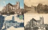 - 5 CP Diverses De Meaux ( 77 )Toutes Scandées - Cartes Postales