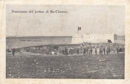 377-BU-CHEMEZ(LIBIA)-EX COLONIE ITALIANE-FORTINO DI BU-CHEMEZ-1912-FP - Guerres - Autres