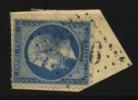 France, N° 22  Oblitération GROS CHIFFRES  N° 3116  // RESSONS Au Quart De Cote - 1853-1860 Napoleon III