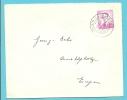 1067 Op Brief Met Stempel KELMIS-LA CALAMINE / ROSENMUNTAGS-ZUG SUN CARNAVAL  (Oostkanton - Canton De L´est) - 1953-1972 Brillen