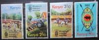 A5221 - Kenya - 1982 - Sc. 230-233 - Kenia (1963-...)