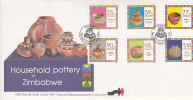 Zimbabwe -1993 Household Pottery FDC - Zimbabwe (1980-...)