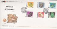 Zimbabwe -1993 Minerals FDC - Zimbabwe (1980-...)