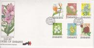 Zimbabwe -1994 Export Flowers  FDC - Zimbabwe (1980-...)