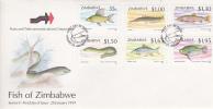 Zimbabwe -1994 Fish Of Zimbabwe FDC - Zimbabwe (1980-...)