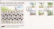 Zimbabwe -1995 4th Definitive  Historic Monuments And Landmarks FDC - Zimbabwe (1980-...)