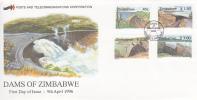 Zimbabwe -1996 Dams FDC - Zimbabwe (1980-...)