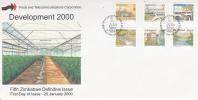 Zimbabwe -2000 5th Definitive Issue Development FDC - Zimbabwe (1980-...)