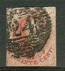 Belgique - No 12 Oblitéré P24, Papier Mince, 4 Marges, Voir Scan - 1858-1862 Medaillen (9/12)