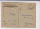 HONGRIE - 1943 - CARTE POSTALE MILITAIRE De SECTEUR 54 Pour SZOMBATHELY