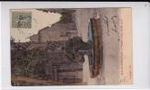 1906 - TIMBRE SEMEUSE LIGNEE SURCHARGE FM Sur CARTE POSTALE De AIX EN PROVENCE - AMBULANT GAP à MARSEILLE - Marcophilie (Lettres)